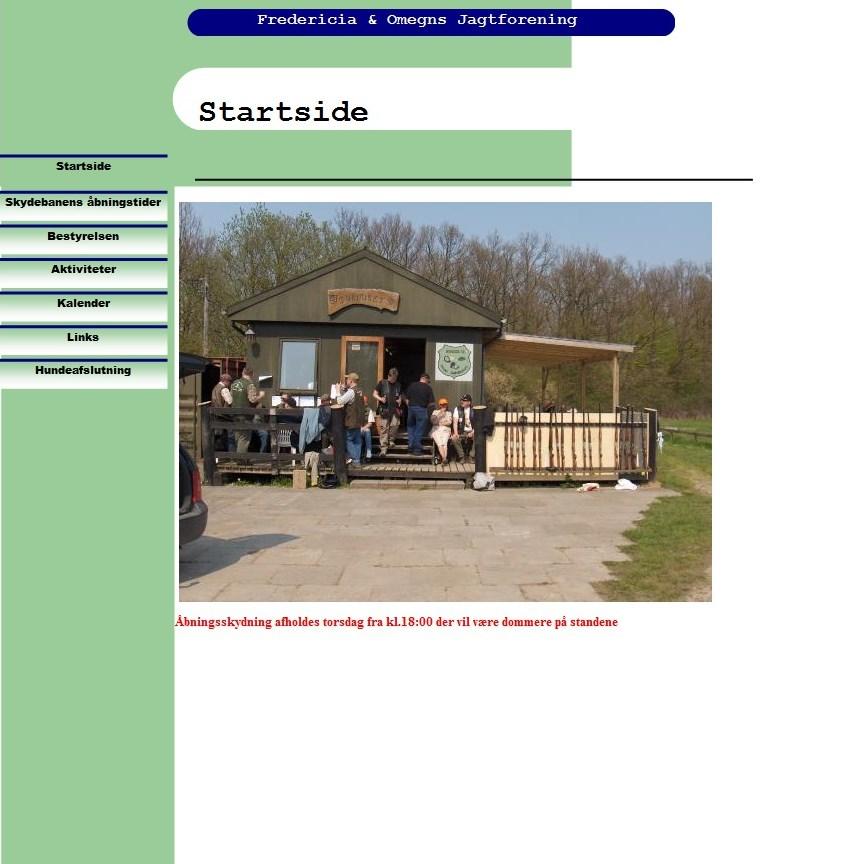jagtforeningen hjemmeside