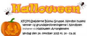 Halloween Spejderne